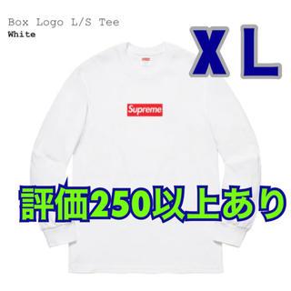 シュプリーム(Supreme)のSupreme Box Logo L/S Tee XL(Tシャツ/カットソー(七分/長袖))