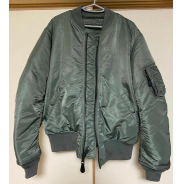 AVIREX(アヴィレックス)のAVIREX アヴィレックス 6152196 MA-1B CLASSIC  メンズのジャケット/アウター(フライトジャケット)の商品写真