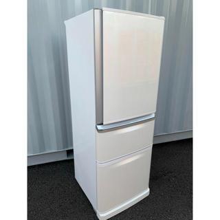 三菱電機 - 三菱 冷凍冷蔵庫 自動製氷付き 3ドア 335L ホワイト