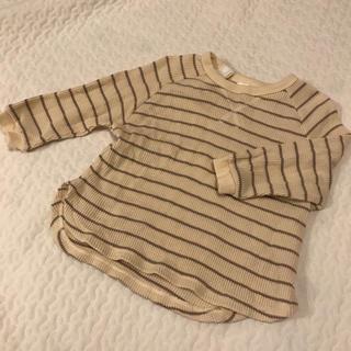フタフタ(futafuta)のテータテート  ワッフル ロンT(Tシャツ)