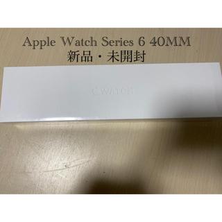 Apple Watch - 【新品】Apple Watch series6 40MM GPSモデルA2291