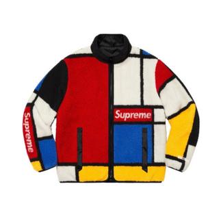 シュプリーム(Supreme)のReversible Colorblocked Fleece Jacket(ブルゾン)