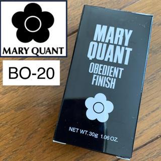 マリークワント(MARY QUANT)の新品♡マリークワント♡オビーディエントフィニッシュ ファンデーション BO-20(ファンデーション)