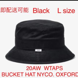 ダブルタップス(W)taps)の20AW BUCKET / HAT / NYCO. OXFORD 黒 L(ハット)