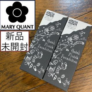 マリークワント(MARY QUANT)の2個セット☆新品未開封♡マリークワント♡クイックフィニッシュファンデーション(ファンデーション)