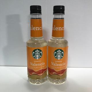 Starbucks Coffee - スタバ シロップ バレンシア 2本