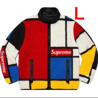 シュプリーム(Supreme)のL Supreme Reversible Fleece Jacket(ブルゾン)