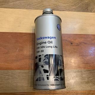 Volkswagen - VW 純正エンジンオイル VW 504 LongLife 5W-30