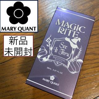 マリークワント(MARY QUANT)の新品未開封♡マリークワント♡マジックライト シーイットスルー 美白美容液(美容液)