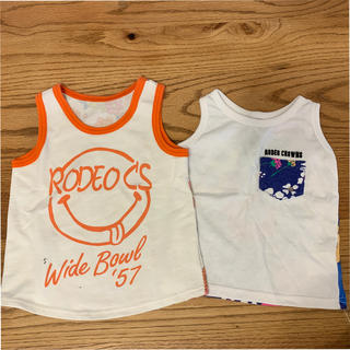 ロデオクラウンズ(RODEO CROWNS)のタンクトップSet⭐︎(Tシャツ/カットソー)