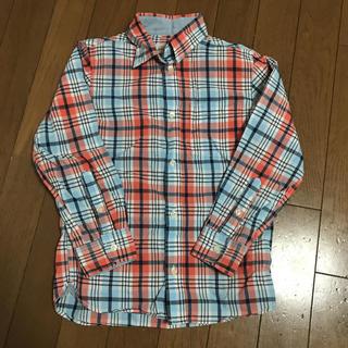 エイチアンドエム(H&M)のチェックシャツ 120センチ(ブラウス)