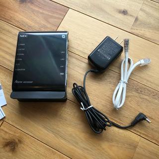 エヌイーシー(NEC)のNEC 無線LANルーター Aterm WG1200HP(PC周辺機器)