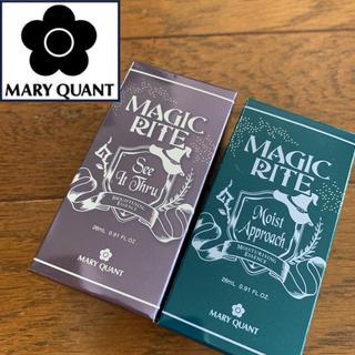 マリークワント(MARY QUANT)の新品未開封♡マリークワント♡マジックライト美容液2種セット 保湿 美白(美容液)