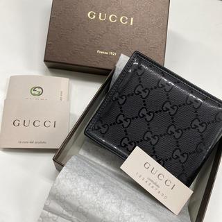 Gucci - GUCCI☆中古 バイフォルド コインウォレット 二つ折り財布