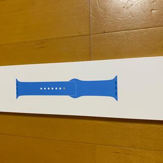 アップル(Apple)のapple watch 40mm Surf Blue Sport Band(腕時計)