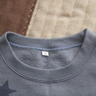 130cm 裏起毛*トレーナー(Tシャツ/カットソー)