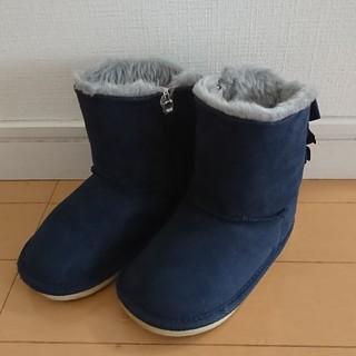 ミキハウス(mikihouse)のミキハウス ムートンブーツ 16cm(ブーツ)