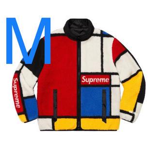 シュプリーム(Supreme)のSupreme Reversible Fleece Jacket M(ブルゾン)