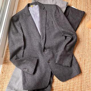 スーツカンパニー(THE SUIT COMPANY)の定価3.5万 スーツセレクト ウールセットアップ スーツ ヘリンボーン風(セットアップ)