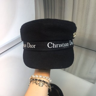 クリスチャンディオール(Christian Dior)のキャスケット 帽子(キャスケット)