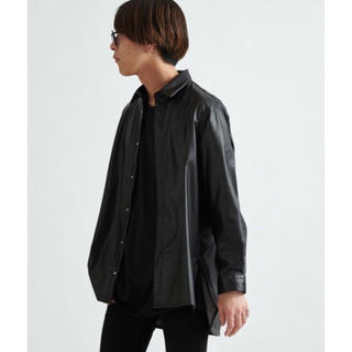 ハレ(HARE)のLui's ルイス 2020SS エコレザーシャツ(シャツ)