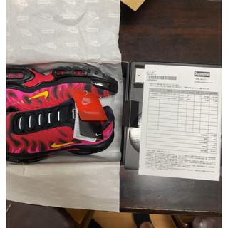 シュプリーム(Supreme)のSupreme/Nike Air Max Plus Black 26cm(スニーカー)