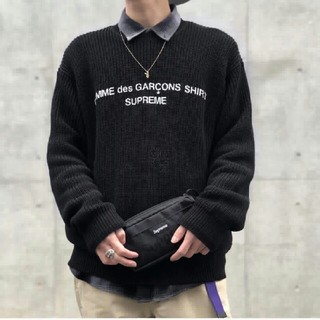 COMME des GARCONS - 新品未使用 CDG   ニットのセーター カップルルック
