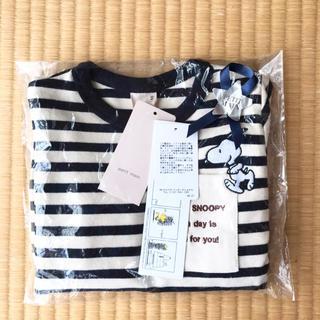 プティマイン(petit main)のスヌーピー 長袖 80(Tシャツ)