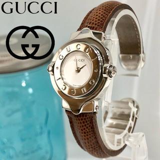 グッチ(Gucci)の56 グッチ時計 レディース腕時計新品電池 ハングルタイプ 美品(腕時計)