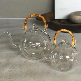 ヤエカ(YAECA)の日の出化学製作所 YAECA ガラスポット 小(食器)