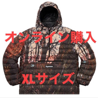 シュプリーム(Supreme)のsupreme Micro Down Zip Hooded Pullover(ダウンジャケット)