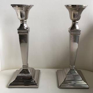 キャンドルスタンド 銀食器 シルバー キャンドルスタンド(キャンドル)
