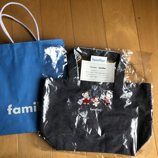 familiar - ファミリア 神戸阪急コラボミニトートバッグ