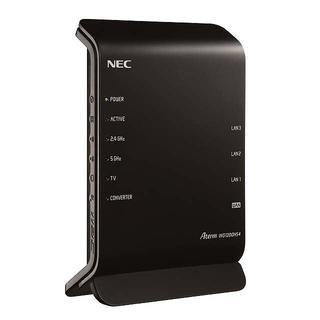 エヌイーシー(NEC)の無線ルータ Aterm WG1200HS4 V6プラス/ Wi-Fi 5対応(PC周辺機器)