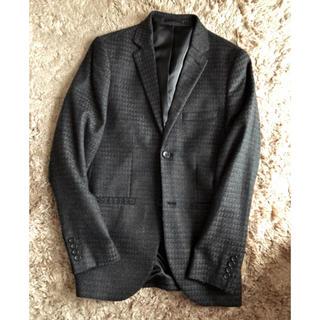 トップマン(TOPMAN)のTOPMAN TOPSHOP グレンチェック  ジャケット スーツ(テーラードジャケット)