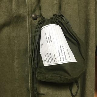 BEAMS - 絶品 アメリカ軍 パーソナルエフェクトバッグ パラコード付き