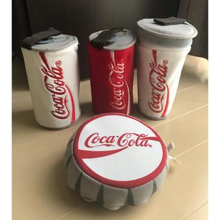 コカコーラ(コカ・コーラ)の【非売品】コカ・コーラ ✩.* ポーチ 4つセット(ノベルティグッズ)