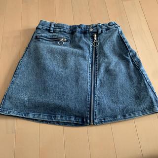 アベイル(Avail)のパンツインデニムスカート ♡(ミニスカート)