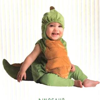 コストコ(コストコ)のBOOBABIES ベビーハロウィンコスチューム 0-9ヶ月 恐竜(衣装)