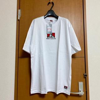 ベンデイビス(BEN DAVIS)の新品 BEN DAVIS (ベンデイビス)/Tシャツ XL 白 刺繍(Tシャツ/カットソー(半袖/袖なし))