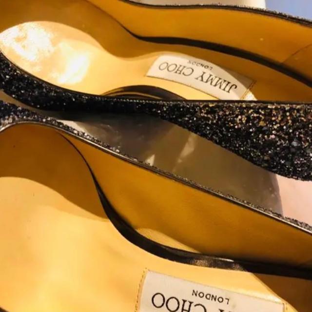 JIMMY CHOO(ジミーチュウ)のJIMMY CHOO ROMY 100 NAVY/SILVER レディースの靴/シューズ(ハイヒール/パンプス)の商品写真