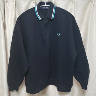 FRED PERRY - FRED PERRY ポロシャツ 長袖 ビッグシルエット