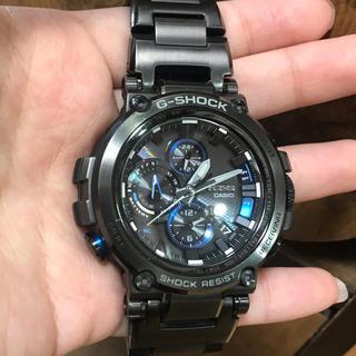 ジーショック(G-SHOCK)のCASIO G-SHOCK MT-G ブラック(腕時計(アナログ))