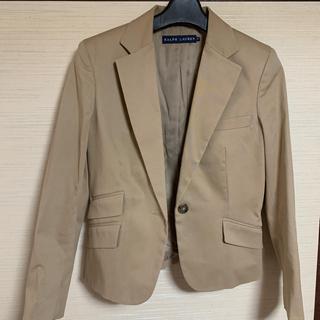 ラルフローレン(Ralph Lauren)のラルフローレン  テーラードジャケット ベージュ  9号(テーラードジャケット)