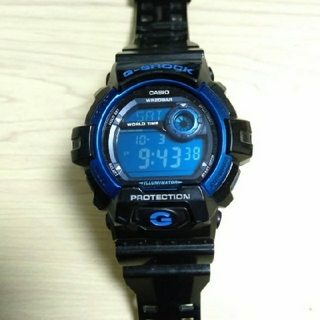 ジーショック(G-SHOCK)のG-SHOCK ブルー ブラック(腕時計(デジタル))