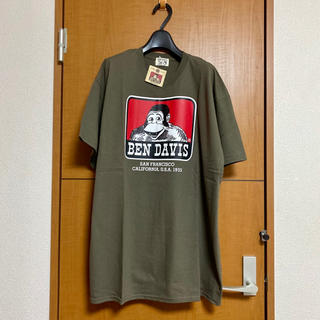 ベンデイビス(BEN DAVIS)の新品 BEN DAVIS (ベンデイビス)/Tシャツ XL カーキ(Tシャツ/カットソー(半袖/袖なし))
