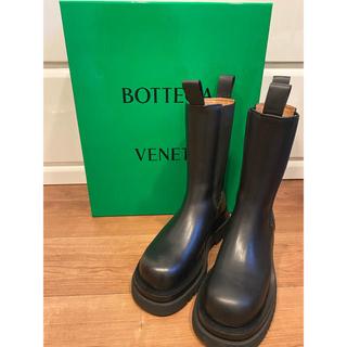 ボッテガヴェネタ(Bottega Veneta)のbottega veneta BVラグブーツ ボッテガヴェネタ 37(ブーツ)