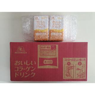 モリナガセイカ(森永製菓)の【新品・未開封】森永製菓 おいしいコラーゲンドリンク 12+2本(コラーゲン)