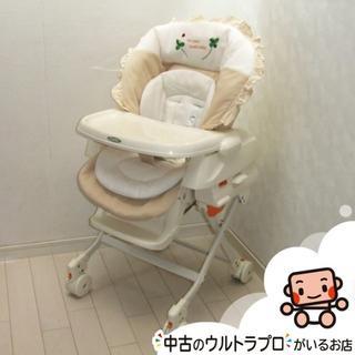 ハイローチェア★コンビ combi★新生児から4才★ベビーラック