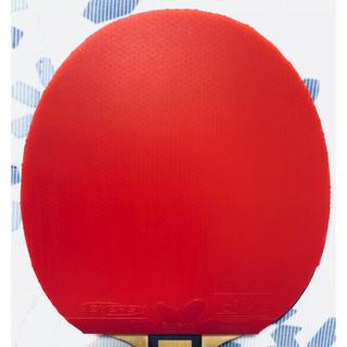 バタフライ(BUTTERFLY)のほぼ新品です! 卓球ラバー テナジー64 レッド 特厚(卓球)